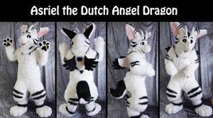Asriel the dutch angel dragon by Maria-M--aka--Bakura