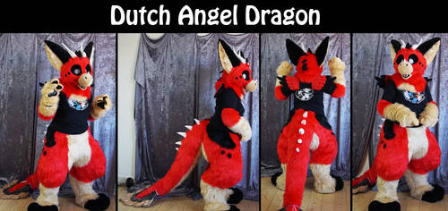 Dutch Angel Dragon fursuit by Maria-M--aka--Bakura