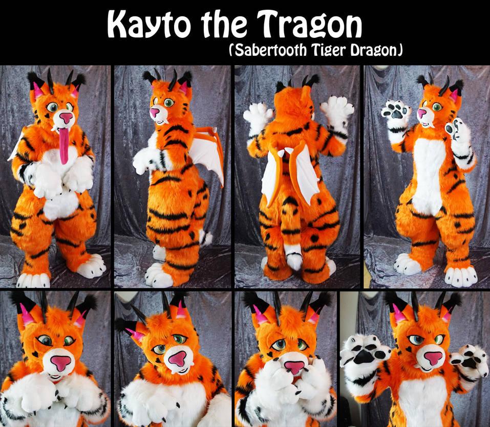 Kayto the Tragon commission by Maria-M--aka--Bakura