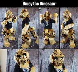 Diney the dinosaur by Maria-M--aka--Bakura