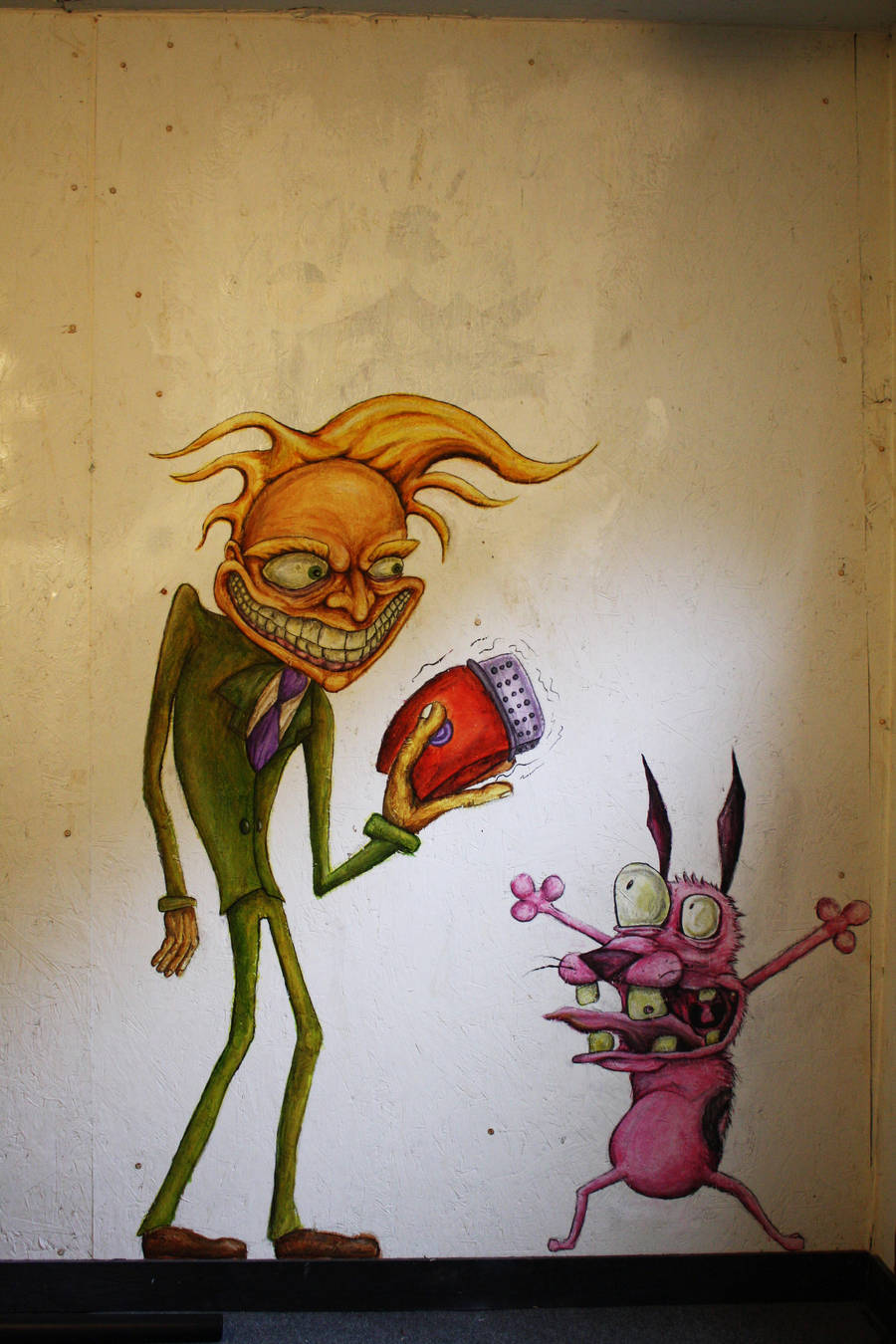 Courage The Cowardly Dog By Zombiebunny9 On Deviantart