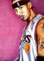 Allen Iverson by MLBOA