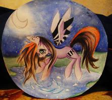 Moon Piano by AnuHanele