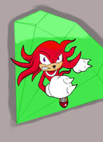 Knuckles the Echidna EPIC by Retro-Eternity