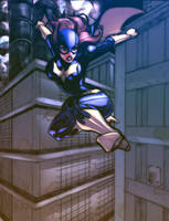 Batgirl Now In Technicolor by Ari-Spike-Nadelman