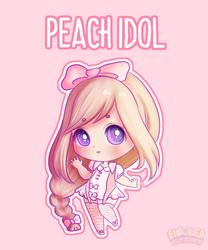 Set Price Adopt! Peach Idol (CLOSED) by Eineko