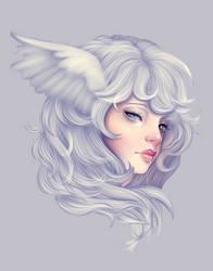 White Falcon by Eineko