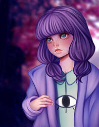 Autumn Violet by Eineko