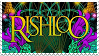 Rishloo stamp by WeevilWitch