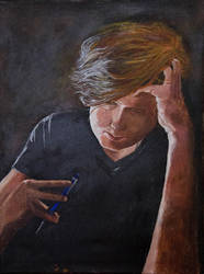 Self Portrait by RobMacIver