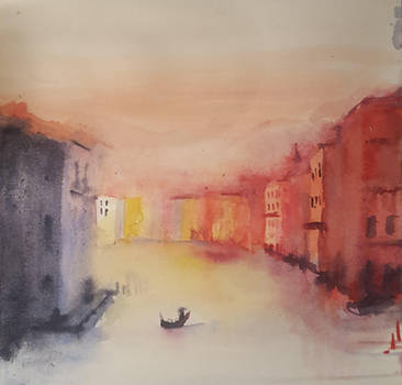 Watercolour by RobMacIver