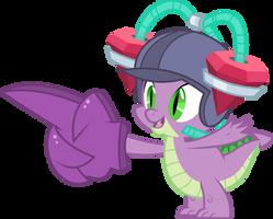 Spike with drinking helmet by dasprid