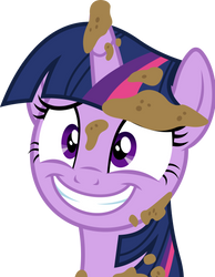 Twilight covered in mud by dasprid