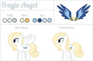 Freyja Angel - Reference Sheet by dasprid