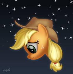 Sad Applejack by dasprid