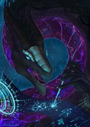 Axel: The  Astral dragon by RenePolumorfous
