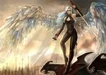 The Crystal Winged Huilinel - Vesper by RenePolumorfous