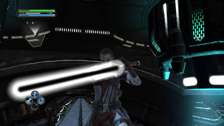 Star Wars The Force Unleashed - Dark saber by Shredder2016