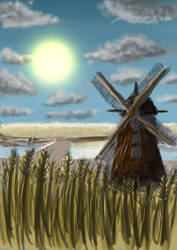 Mill by BSZijlstra