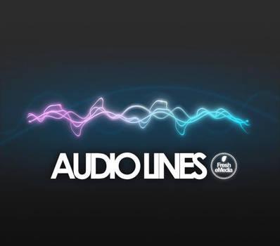 Photoshop Audio Lines Brushes by freshemedia