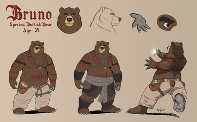 Bruno concept art by Dj-Rodney