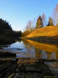 Halikko River by Madvermin