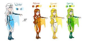 Gravity Saga Concepts - Wendy by HinaTheBlue