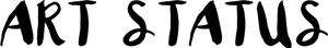 Art Status - Xo (black) by HinaTheBlue