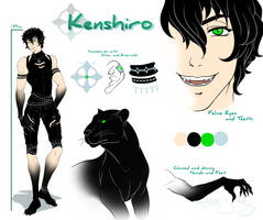 Kenshiro :: Ref Sheet by HinaTheBlue