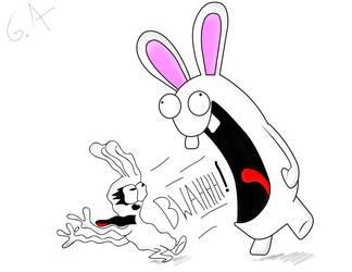 Rabbids and Rabbits by Mrgametv1994