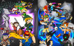 SSB vs PS All Stars 3 by Thesimpleartist4