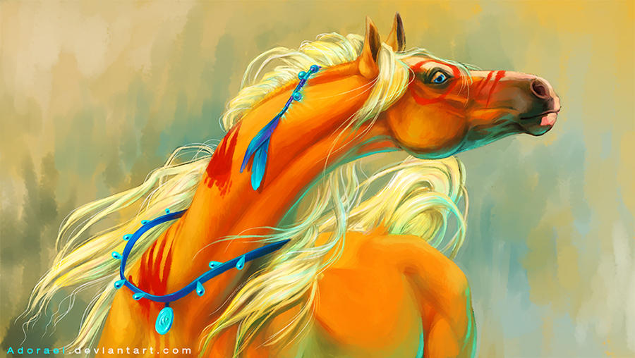 Ginger War Pony by Adorael