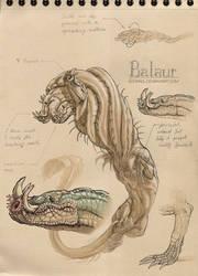 Dragon2 - Balaur by Adorael