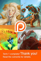 Patreon term 1 complete by Adorael