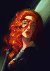 Dark Flame by Adorael