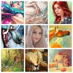 Art vs Artist by Adorael