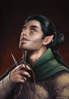 Half-elf by Adorael