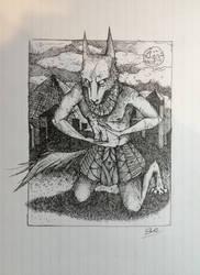Anubis by slRobin