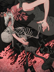 Bone Black by herringbonnes