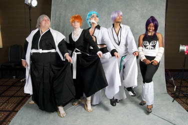 Captain Morgan, men! :Grimmjow 3: by Pandas-and-Pocky