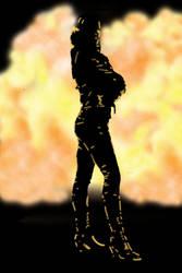 Gwen Cooper - Badass by AmazingSpork