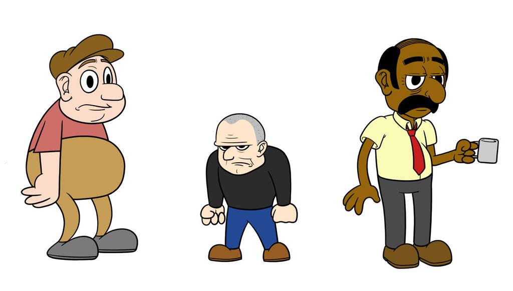 Heist Characters by Bortonium