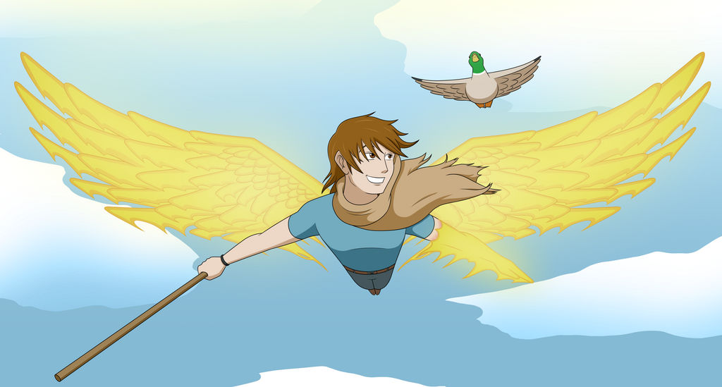 Come Fly With Me by Bortonium