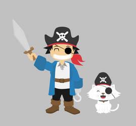 The Pirate by rezpa