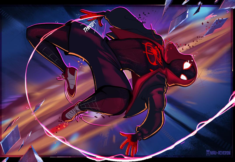 Spider-Verse fanart by Mau-Acheron