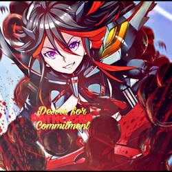 (Kill La Kill) Desire To Commitment - Pathogen by pathogen1