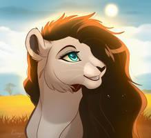 Alex lion by MaluFourela