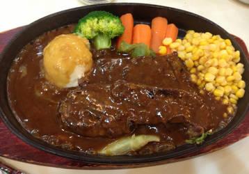 Sizzling Sirloin Steak by nosugarjustanger
