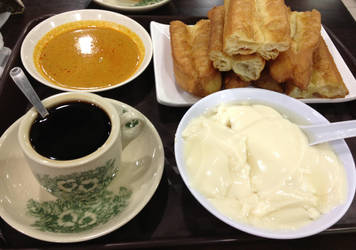 Asian Breakfast Platter by nosugarjustanger