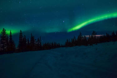 Northern Lights by nosugarjustanger
